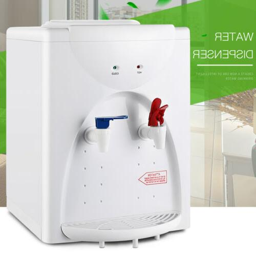 electric hot and cold water cooler dispenser