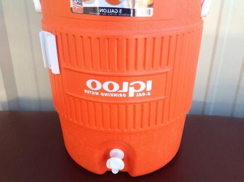 Igloo Gallon Beverage Cooler Spigot Water Drink Dispenser Seat Top