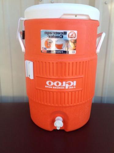 igloo 5 gallon beverage cooler spigot water