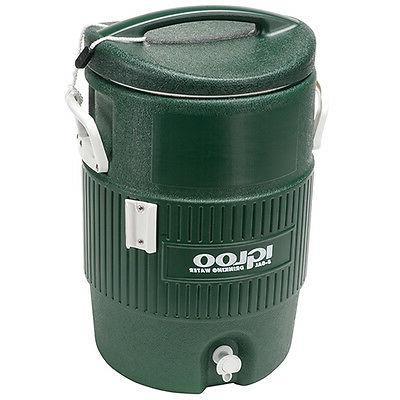 Igloo Water Cooler, Green - 5 Gallons