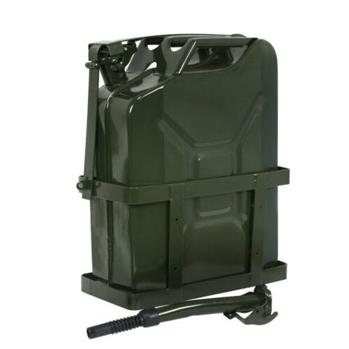 Jerry Can 5 Gallon 20L Gas Gasoline Fuel Army NATO Metal Ste
