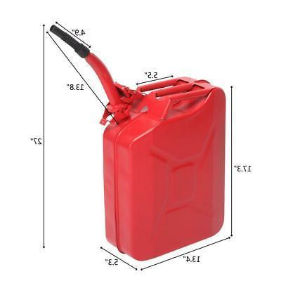 Jerry Can 20L Steel Fuel Tank Emergency Backup