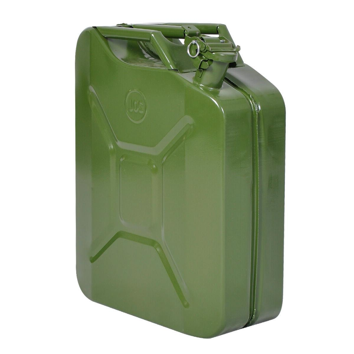 Jerry Can 5 20L Gas Steel Tank Emergency Military