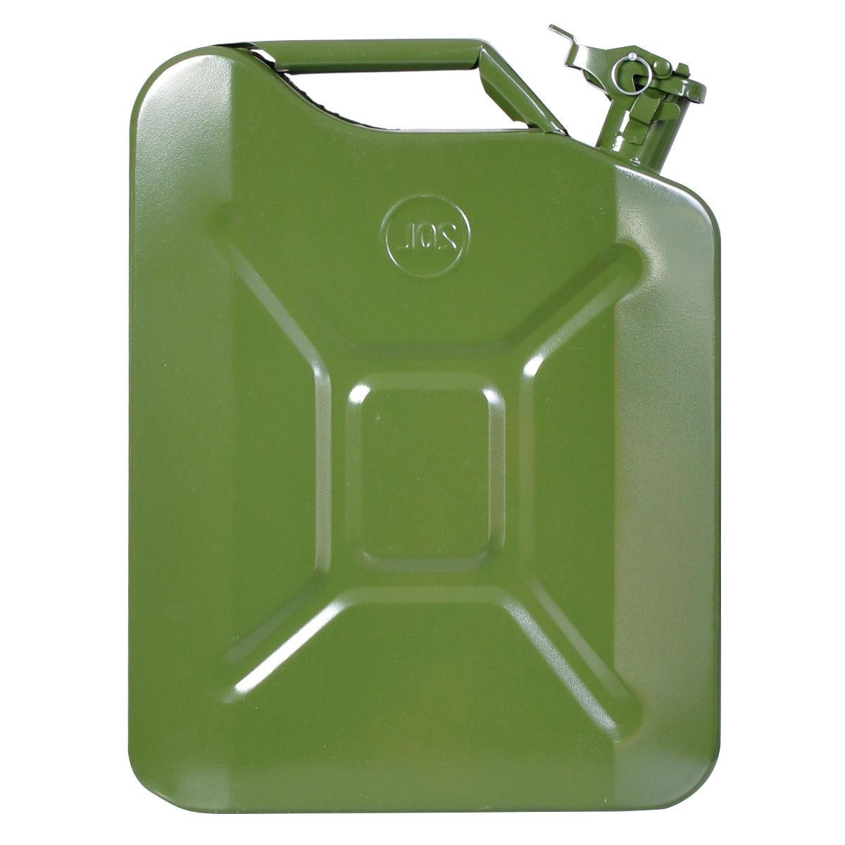 Jerry Can 5 Gallon 20L Gas Fuel Steel Tank Emergency Backup