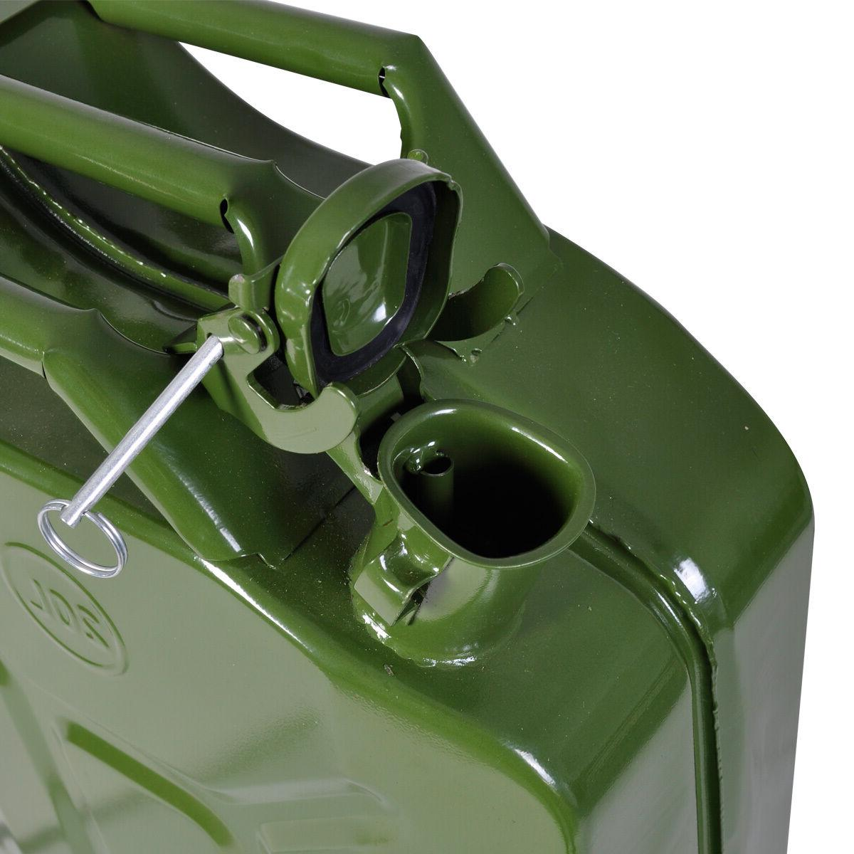 Jerry Can 20L Gas Fuel Tank Emergency Backup Military