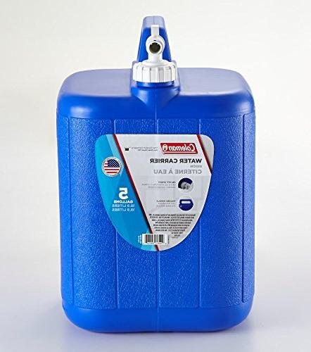 Coleman With Carrier, Gallons, Blue