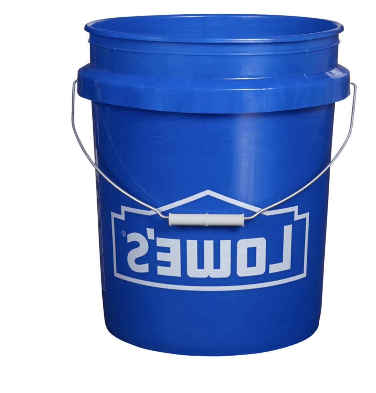 lid food grade commercial plastic bucket 5
