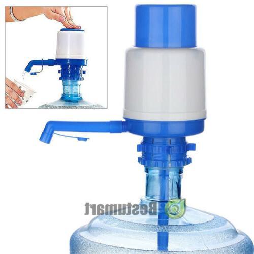 manual hand press 5 gallon drinking water