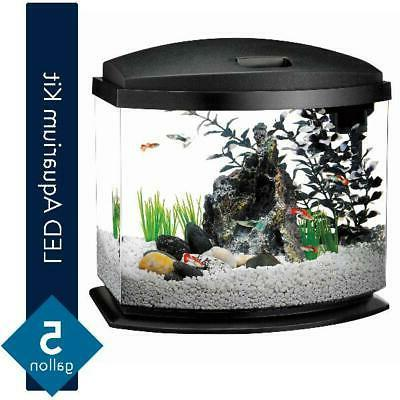 minibow aquarium led starter kit filter food