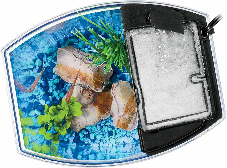 Aqueon MiniBow Aquarium Kit W/ 3-Styles Fish Tank