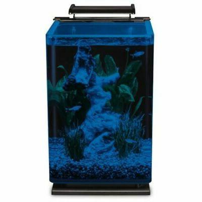 Modern Gallon Portrait Fish Kit LED Lighting NEW