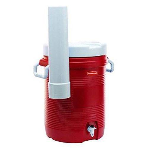 Rubbermaid 5 gal. Modern Red Cooler Dispenser