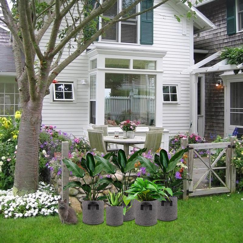 1/2/3/<font><b>5</b></font>/7/10 Pots Garden Garden Pots Planters