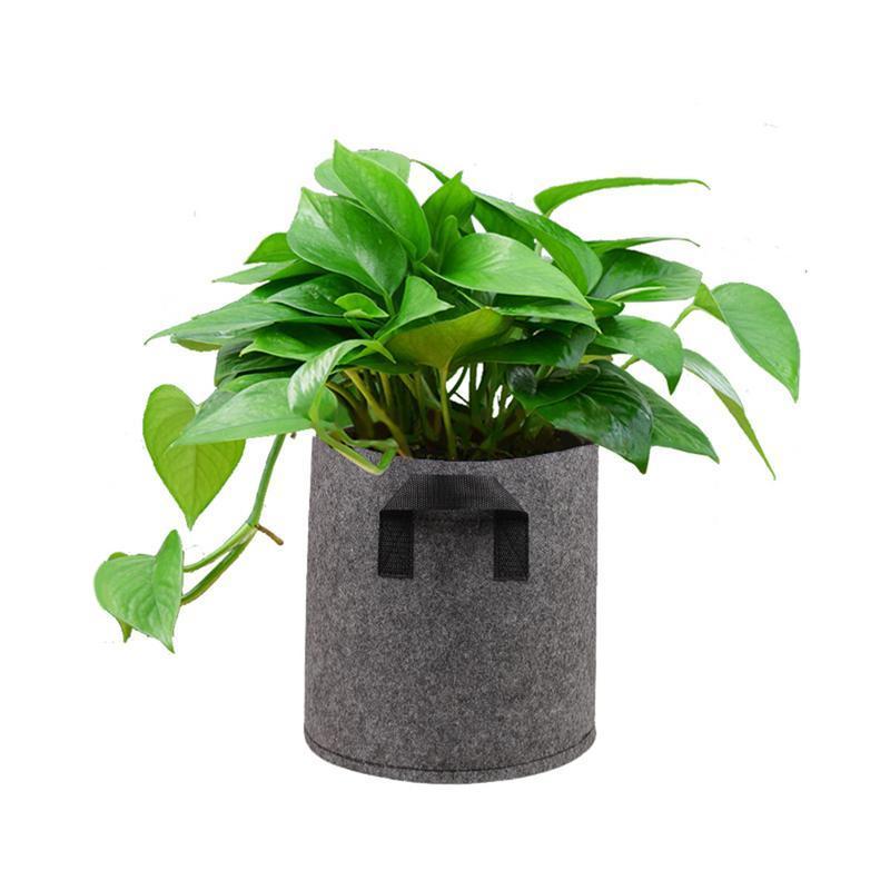 1/2/3/<font><b>5</b></font>/7/10 <font><b>Gallon</b></font> Felt Pots Garden Plant Bag Root Garden