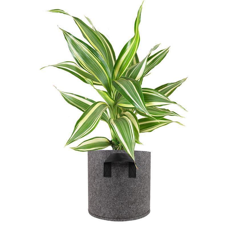 1/2/3/<font><b>5</b></font>/7/10 <font><b>Gallon</b></font> Felt Pots Garden Plant Bag Pouch Container Garden