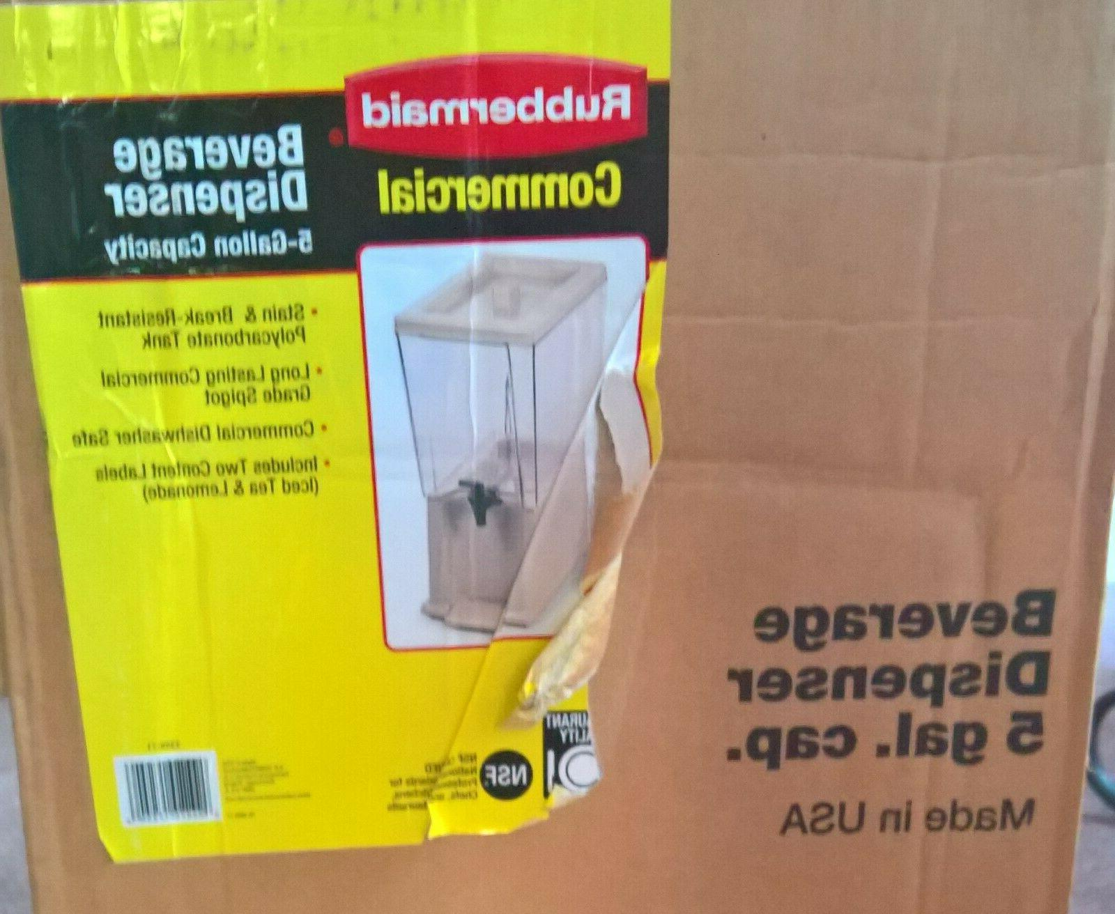 new 5 gallon polypropylene beverage dispenser made