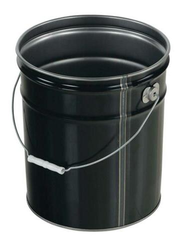 Vestil PAIL-STL-RI Open Head with 5 gallon