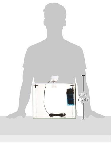 Penn Curved Corner Glass Kit, LED Float for Maximum Viewing Gallon