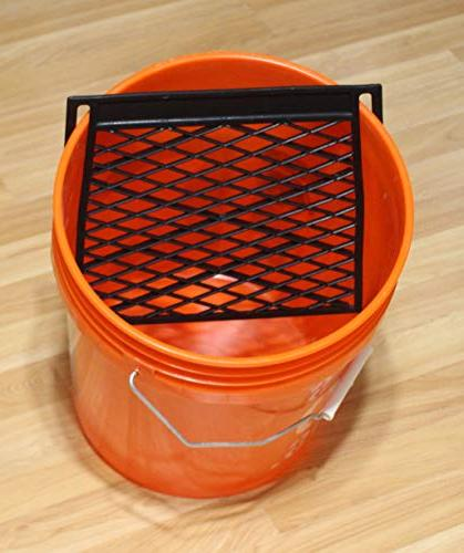 plastic paint roller grid bucket