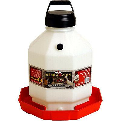 ppf5 5 gallon capacity automatic poultry waterer