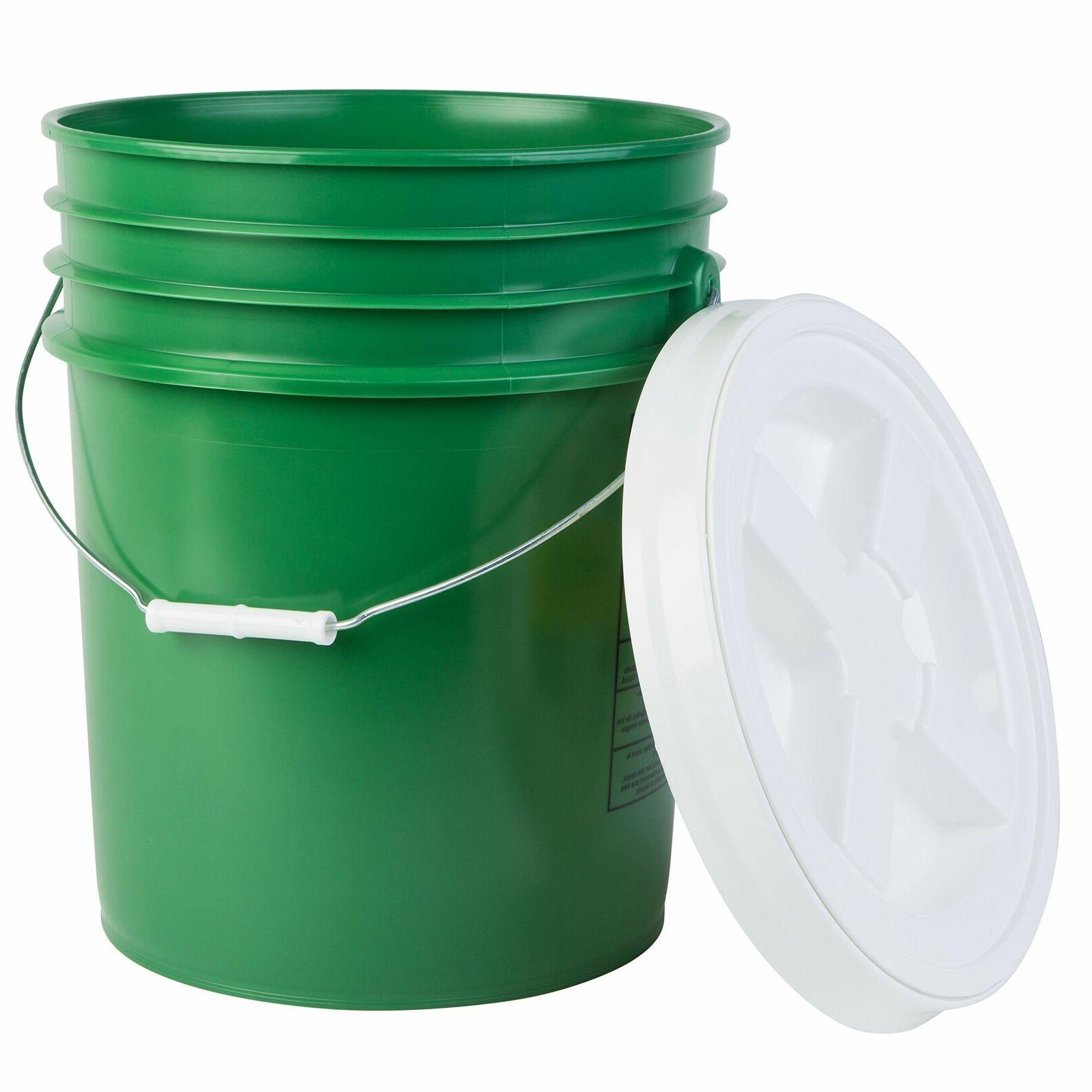 premium 5 gallon bucket with gamma seal