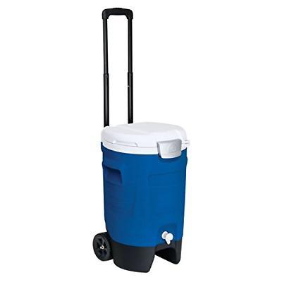 Igloo Sport Roller Beverage Cooler Majestic Blue, 5-Gallon