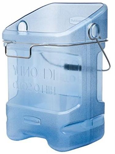 Rubbermaid Commercial Ice Bucket Tote With Bin Hook Adapter,
