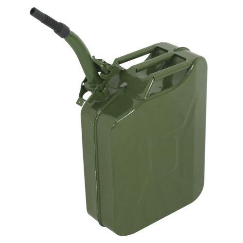 Jerry 5 Gallon 20L Fuel Steel Tank Backup Military