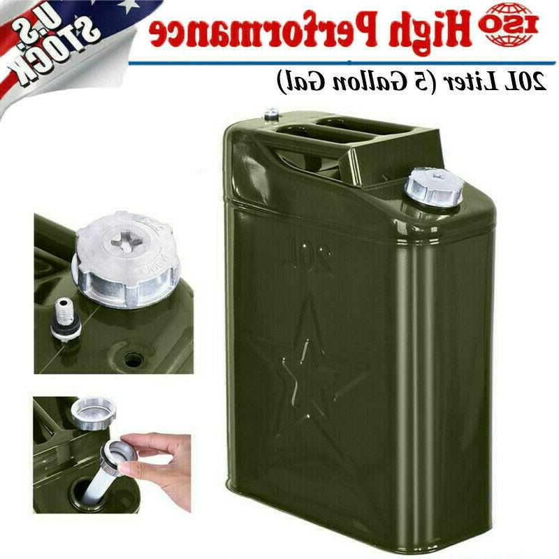 Jerry Can 20L Fuel Steel Tank Military