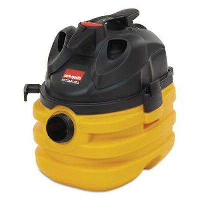 Shop-Vac 5-Gallon, Heavy-Duty Portable Wet/Dry Vacuum, Black