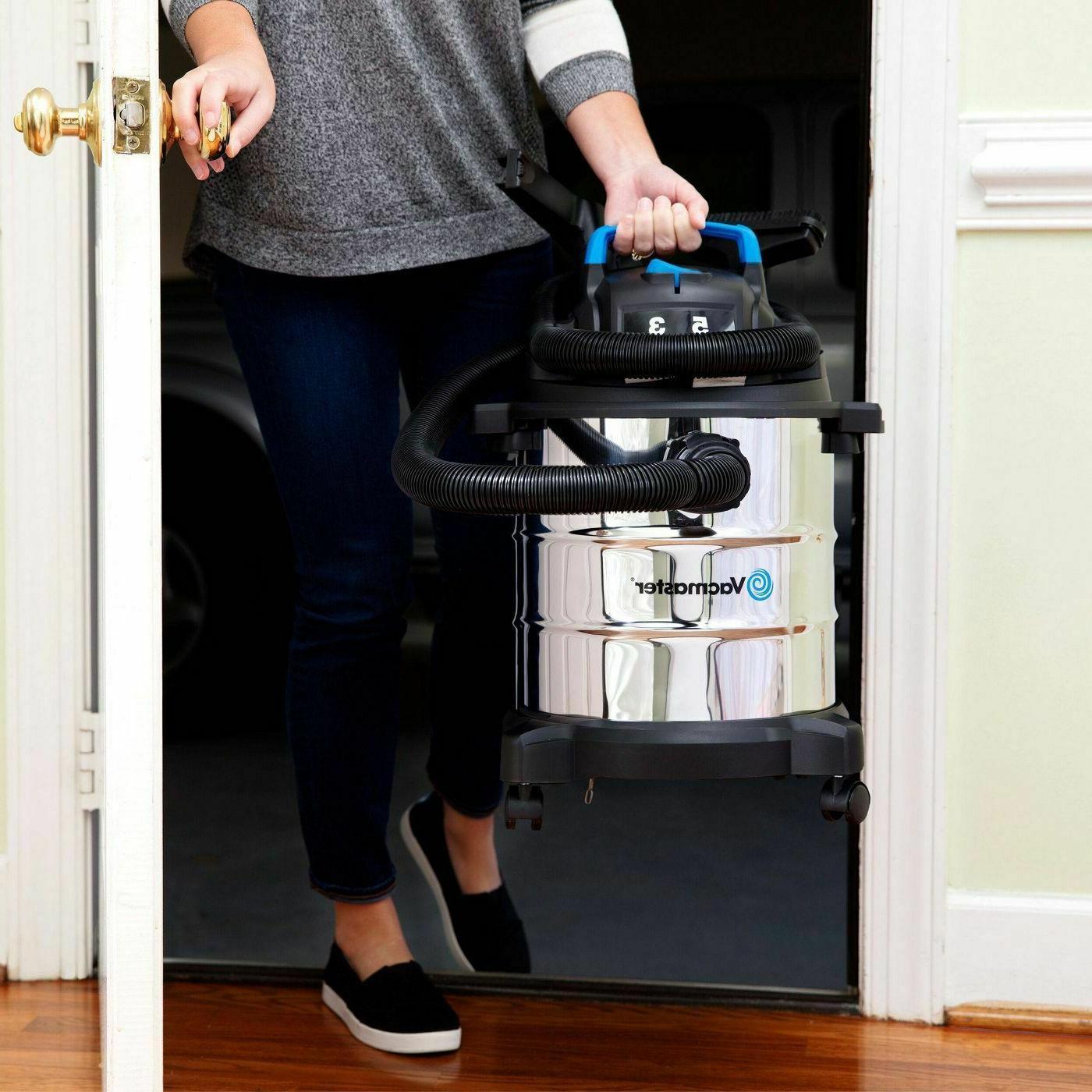 Stainless Vac Gallon Vacuum Cleaner 3 Peak Blower Hose