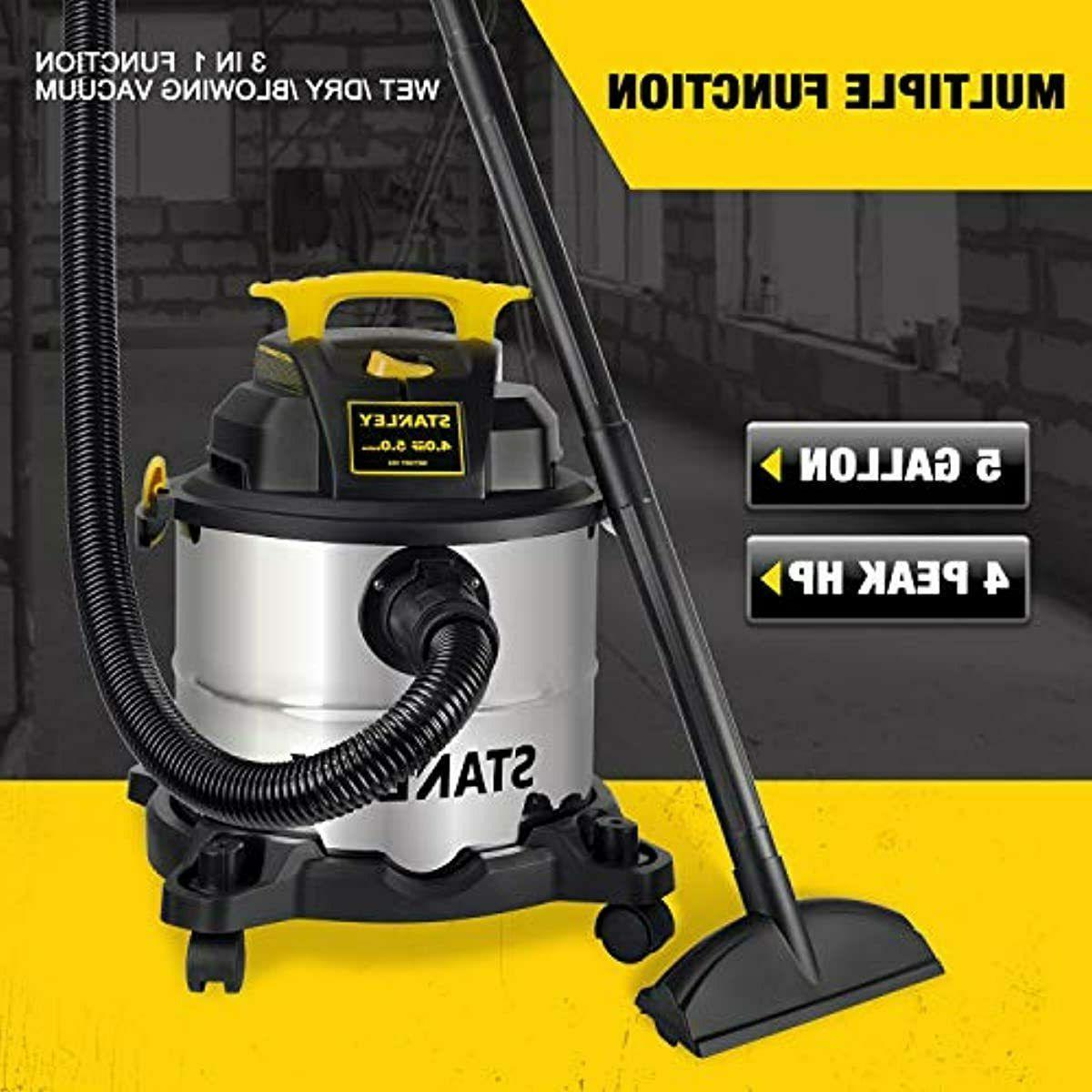 Stanley 5 Gallon Dry Vacuum, HP in Blowe