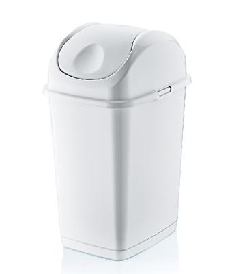 Superio Brand 4.7 Gal. Compact Slim Trash Can