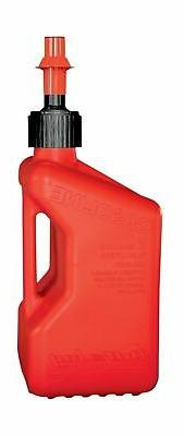 Tuff Jug TJ1R Red Gasoline Fuel Container - 5.0 Gallon Capac