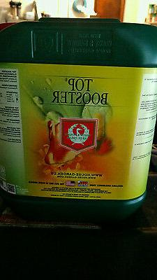 Top Booster 5L five liter by House and Garden nutrients gall