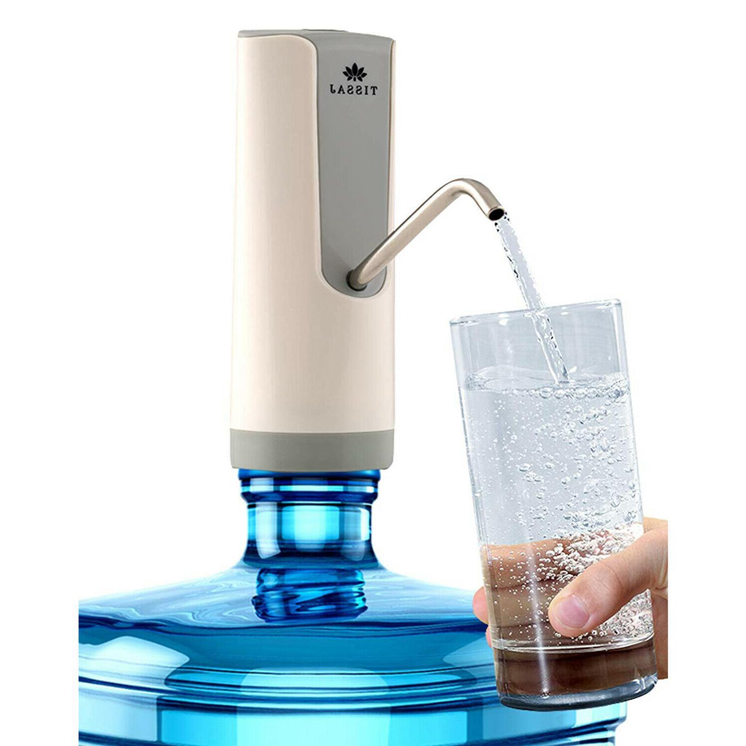 usb water bottle pump dispenser 5 gallon