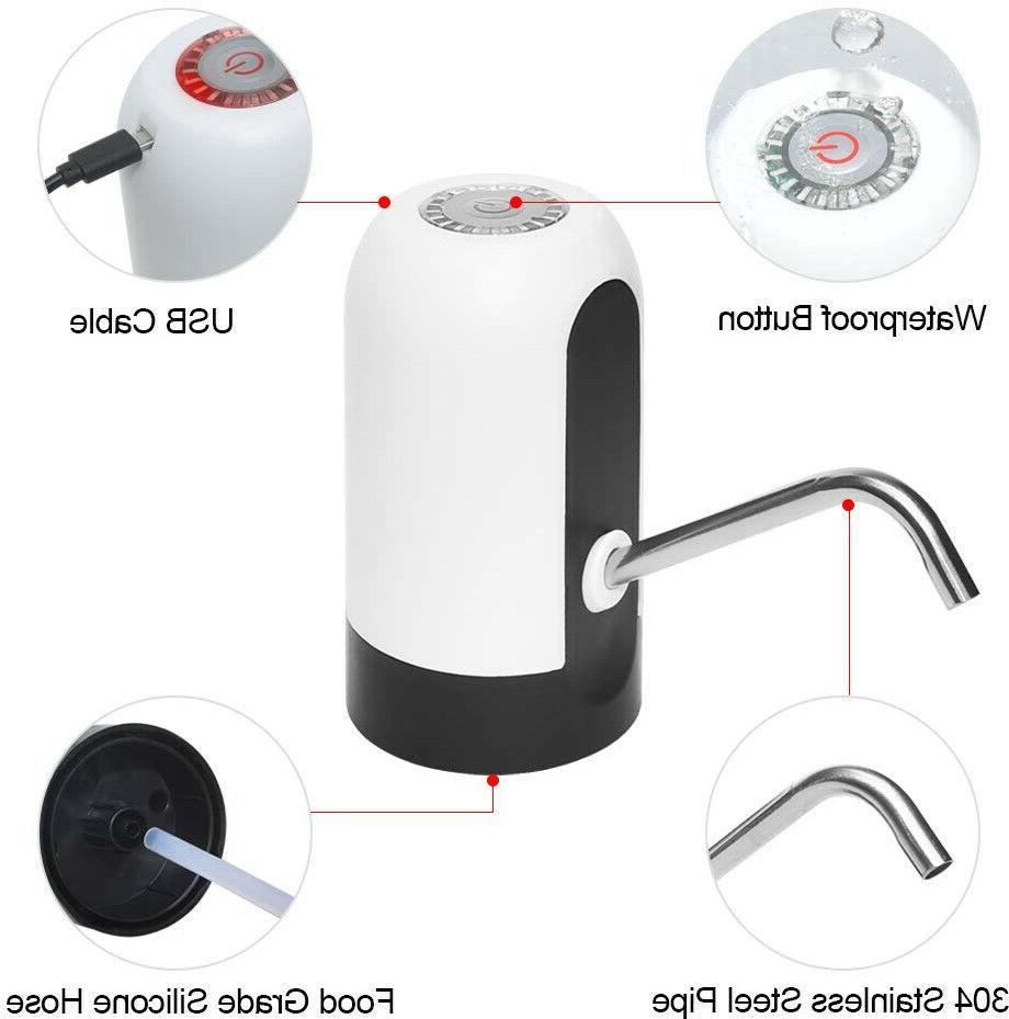 USB Water Bottle Dispenser 5 Gallon