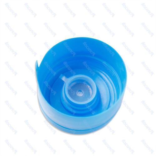 10x 5 Water Bottle Snap On Cap Peel Off Barreled