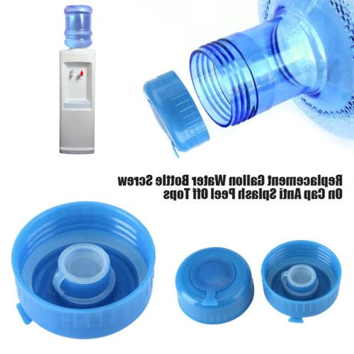 Water Bottle Screw Lid Drinking Non Spill