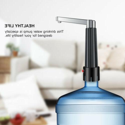 Water Bottle Pump Dispenser Automatic 5 Universal Electric Switch
