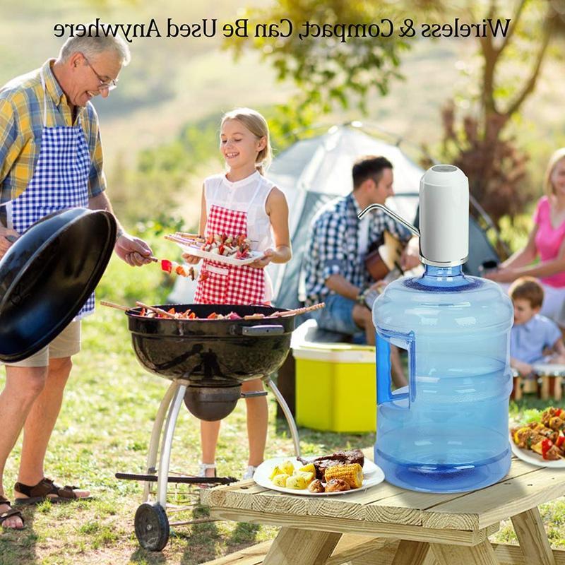 Water Bottle Drinking Water Pump <font><b>Gallon</b></font> Dispenser Usb Water Dispenser