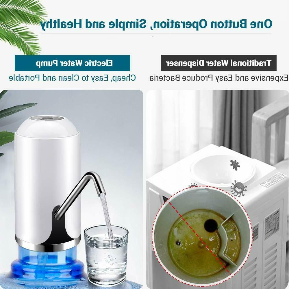 Water Water USB Automatic For Gallon