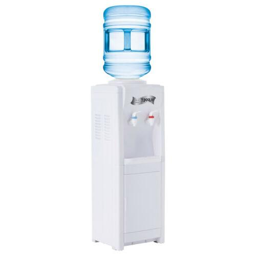 5 Electric Water Dispenser Cooler Top Hot&Cold Home/Office White