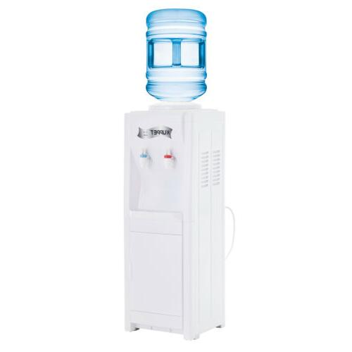 5 Gallon Electric Top Loading Water Cooler Dispenser Hot/Col