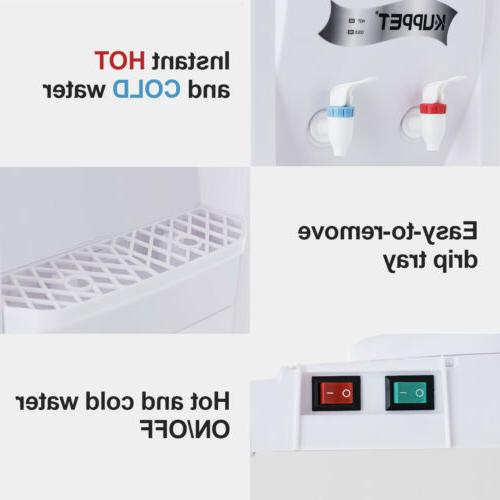 5 Dispenser Top Hot&Cold Home/Office White