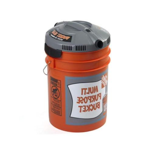 Wet Dry Vacuum Fit 5Gallon Shop Easy Portable NEW