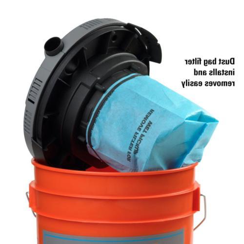 Wet 5Gallon Work Shop Job Portable