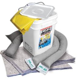 Oil-Dri L90435 Compact Universal 5-Gallon Bucket Spill Kit,