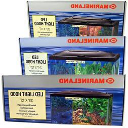 Marineland LED Aquarium Light Hood in 3 sizes with 3-positio