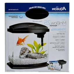 Aqueon LED MiniBow Technology Desktop Hood Aquarium Kit Buil